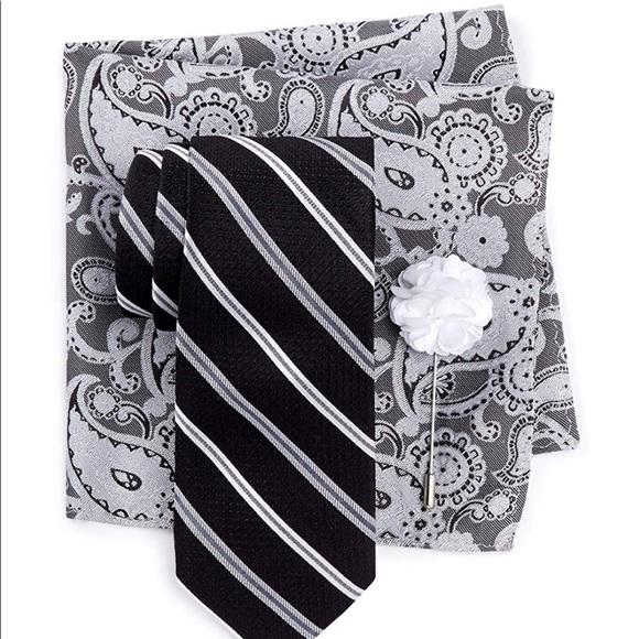 54bbeefcd6f5 Ben Sherman Accessories   Tie Pocket Square Lapel Pin Set   Poshmark